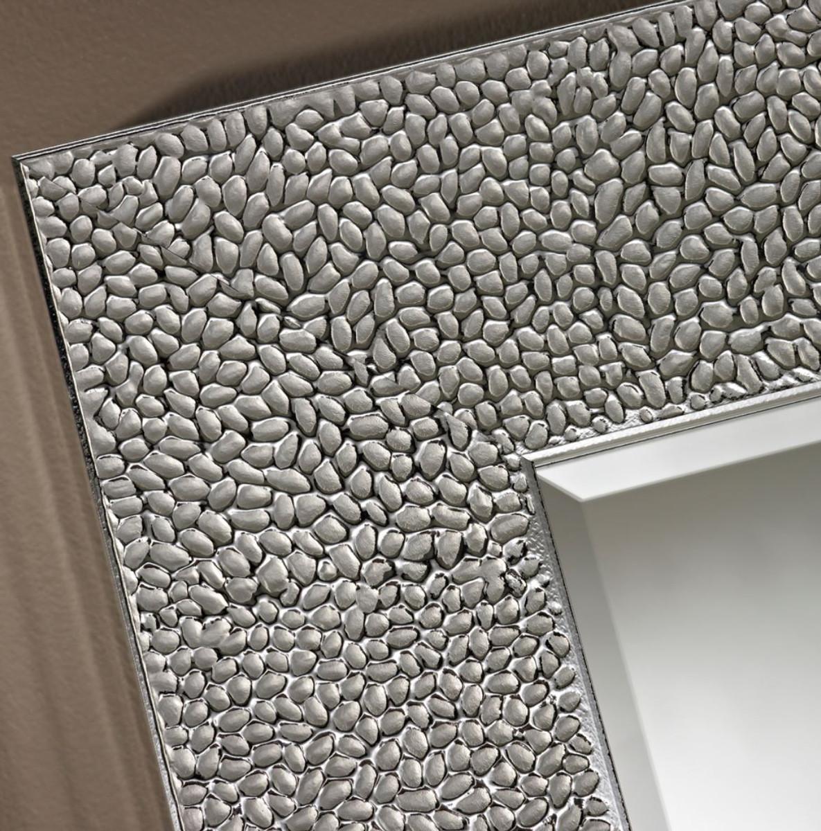 Casa Padrino Wohnzimmer Spiegel Silber 76 x H. 176 cm - Luxus ...