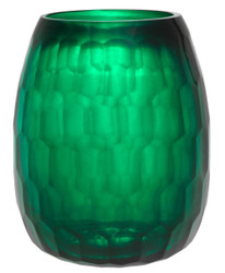 Casa Padrino deco glass vase green Ø 27 x H 35 cm - Luxury Decorations