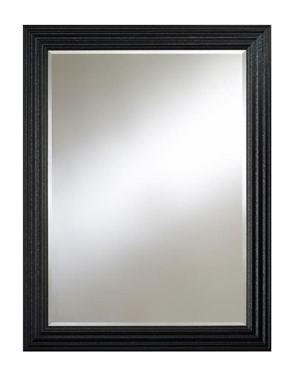 casa padrino barock wandspiegel schwarz 93 x h 122 cm barockstil wohnzimmer m bel spiegel. Black Bedroom Furniture Sets. Home Design Ideas