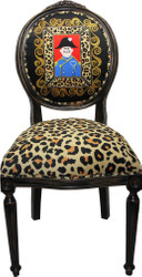 Casa Padrino Baroque luxury dining chair without armrests Lord - Designer chair - Limited Edition
