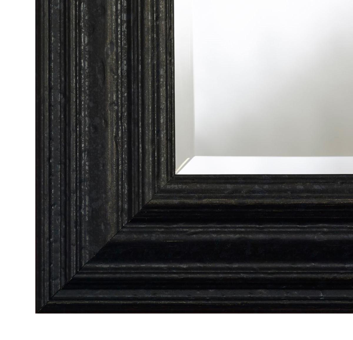 casa padrino barock wandspiegel schwarz 59 x h 169 cm. Black Bedroom Furniture Sets. Home Design Ideas