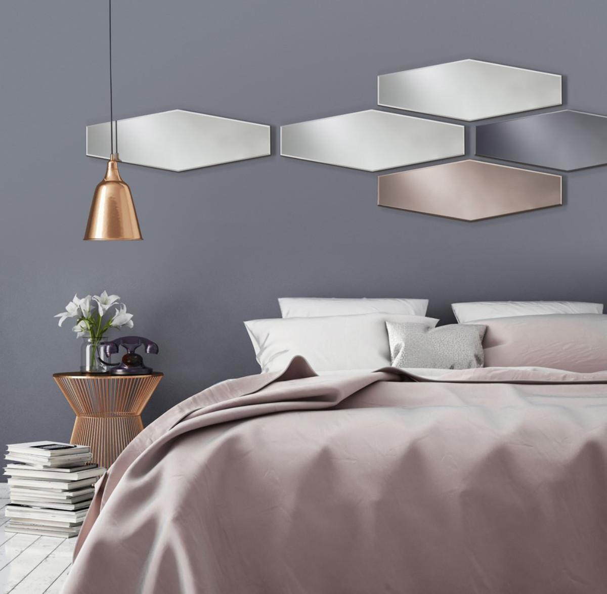 casa padrino designer spiegel grau 27 x h 80 cm designer kollektion spiegel luxus spiegel. Black Bedroom Furniture Sets. Home Design Ideas