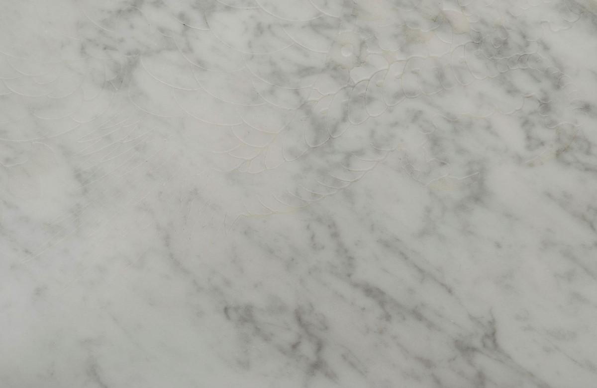 Casa padrino designer couchtisch wei mit muster schwarz for Wohnzimmertisch marmorplatte