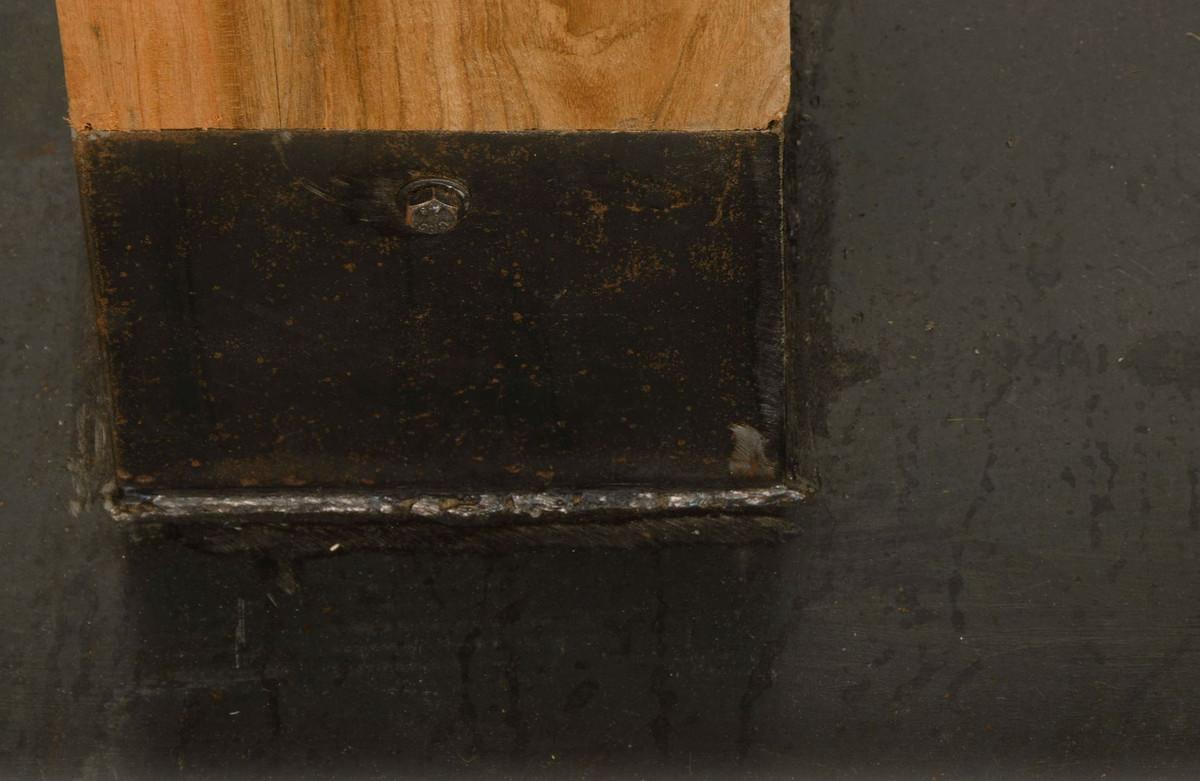 Casa Padrino Luxury Teak Dining Table Brown Black 70 X 70 X H 77 Cm Dining Room Furniture