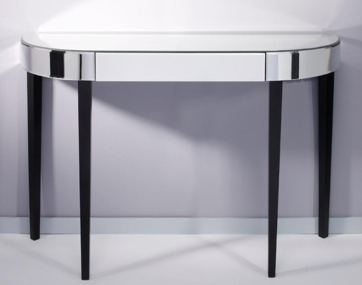 casa padrino luxus spiegelglas konsole mit schublade 112 x. Black Bedroom Furniture Sets. Home Design Ideas