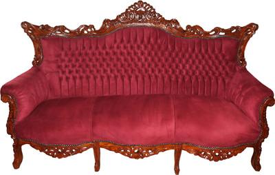 Casa Padrino Barock 3-er Sofa Master in Bordeaux / Braun ...