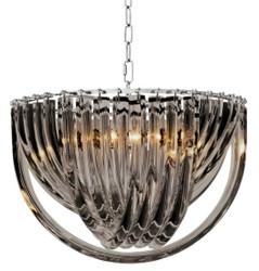 Casa Padrino luxury chandelier black Ø 50 x H. 33 cm - Luxury Collection
