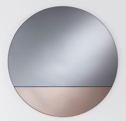 Casa Padrino luxury mirror bronze Ø 58 cm - Designer Furniture & Accessories