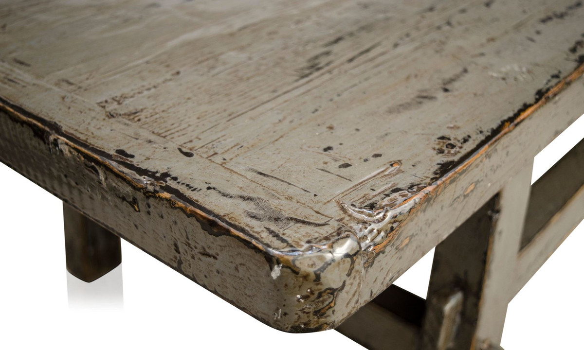 - Casa Padrino Country Style Coffee Table Antique Style Gray 140 X