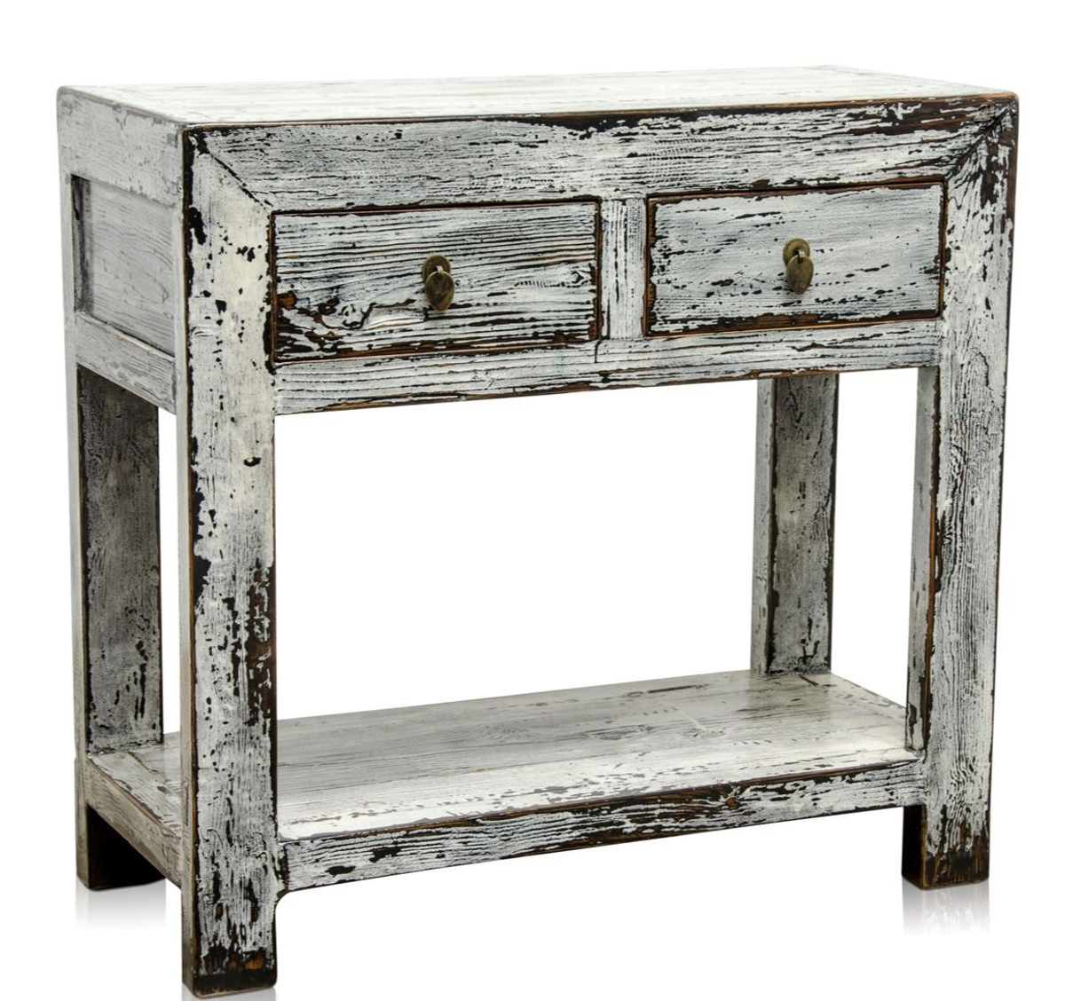 Casa padrino country style console antique style white 90 x 40 x h 85 cm country style - Casa country style ...