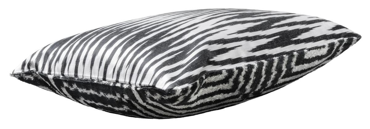 Casa padrino luxus kissen mod2 schwarz wei 40 x 40 cm wohnzimmer deko accessoires - Wohnzimmer deko schwarz weiss ...