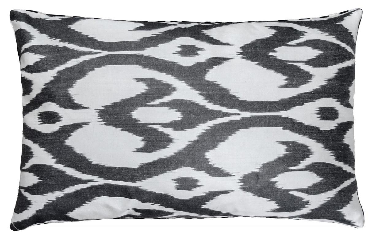 casa padrino luxus kissen mod2 schwarz wei 60 x 40 cm wohnzimmer deko accessoires. Black Bedroom Furniture Sets. Home Design Ideas