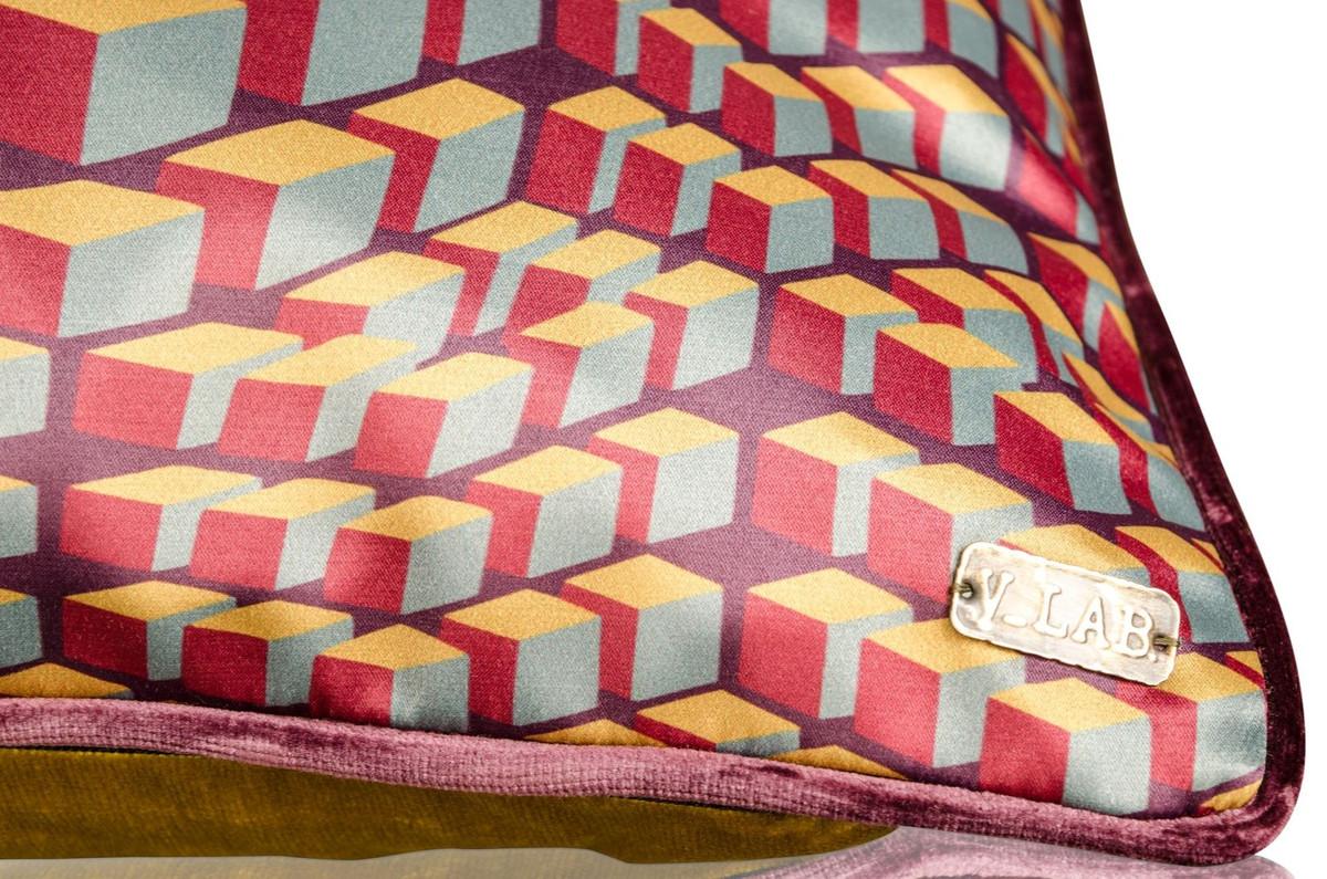 casa padrino wohnzimmer deko kissen 2er set mehrfarbig 50 x 50 cm luxus kollektion. Black Bedroom Furniture Sets. Home Design Ideas