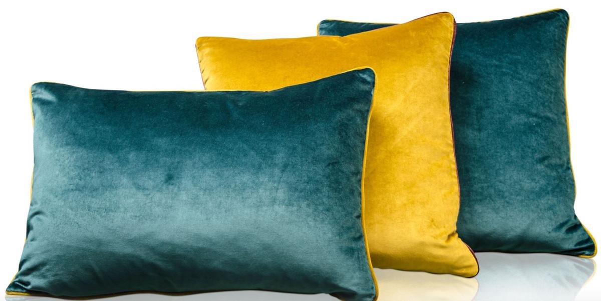 Casa Padrino Wohnzimmer Deko Kissen 3er Set Mehrfarbig   Luxus Kollektion U2013  Bild 3