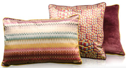 Casa Padrino living room decorative cushion set of 3 multicolor - Luxury Collection