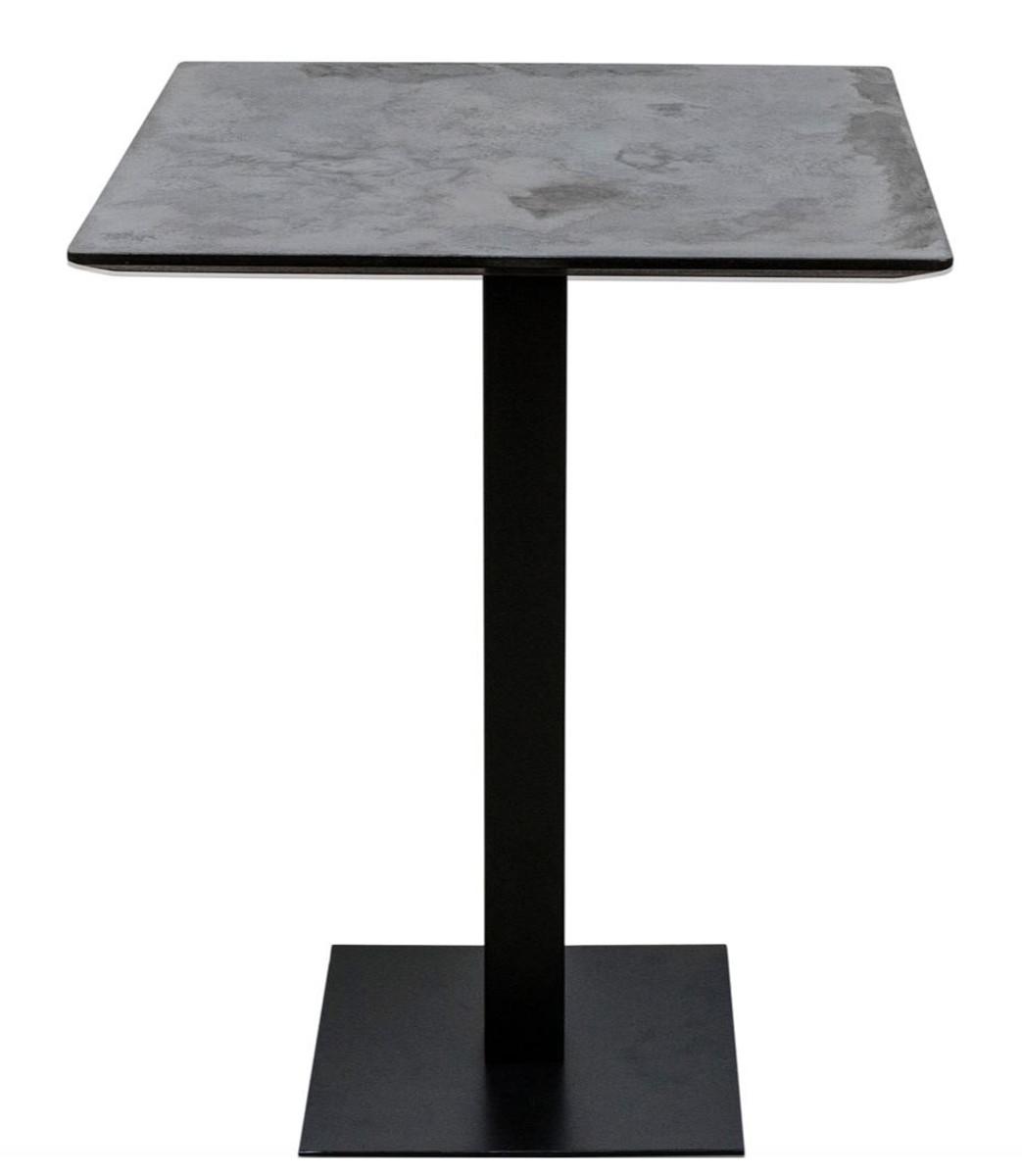 casa padrino luxus bartisch mit mineralbeschichteter tischplatte 70 x 70 x h 100 cm luxus. Black Bedroom Furniture Sets. Home Design Ideas