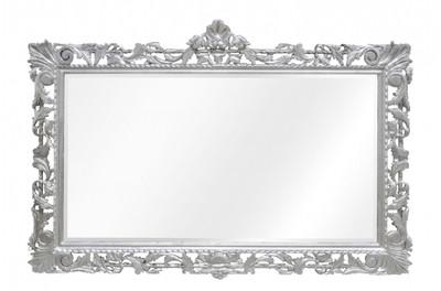 Casa Padrino Barock Spiegel Silber Handgefertigt 193 x 110 cm ...