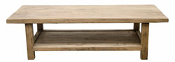 Casa Padrino country style coffee table natural colors 160 x 60 x H. 45 cm - Living Room Furniture in Country Style