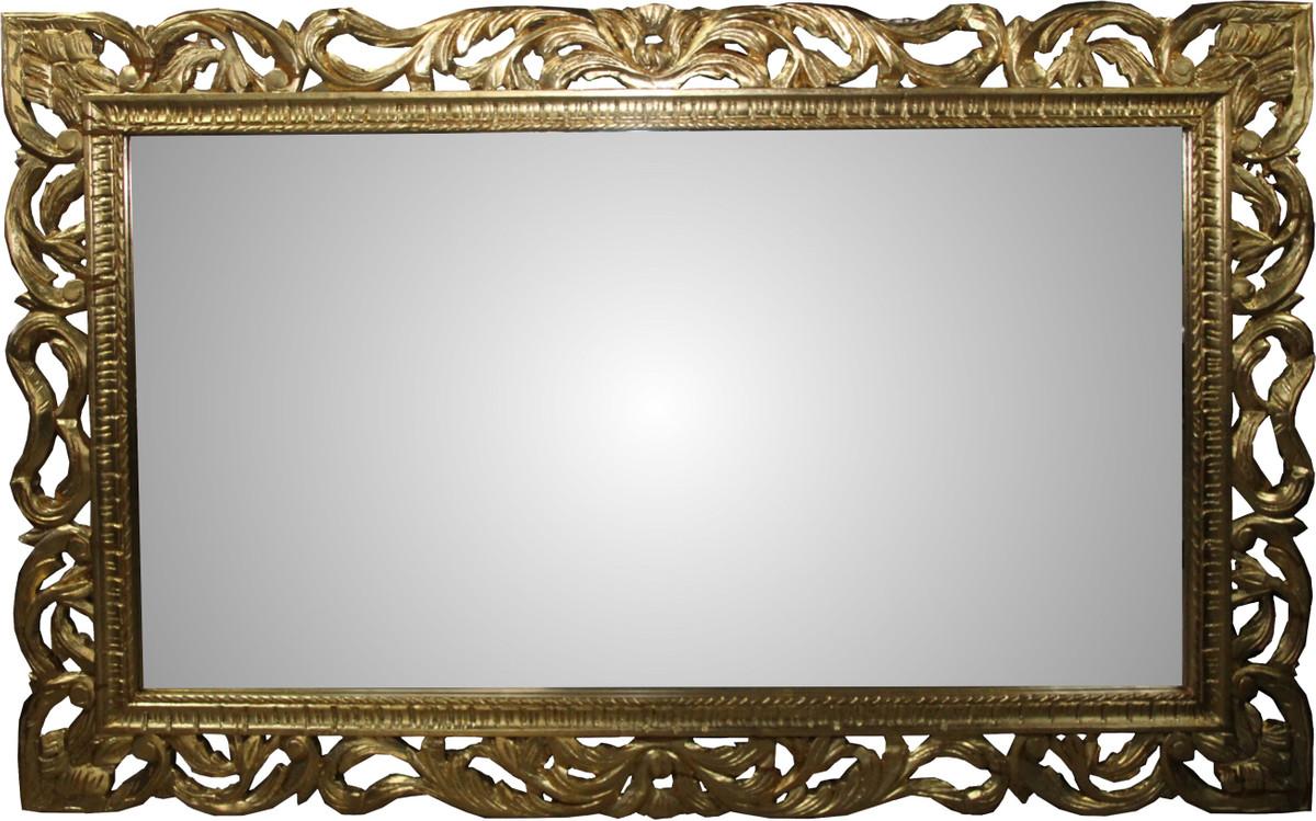 casa padrino barock spiegel gold handgefertigt 160 x 100. Black Bedroom Furniture Sets. Home Design Ideas
