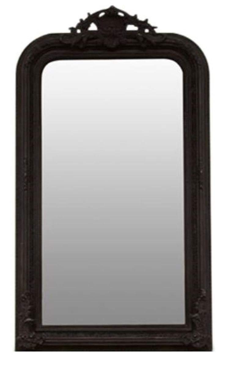 Casa padrino barock spiegel schwarz 86 x h 155 cm - Barock spiegel schwarz ...
