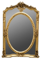 Casa Padrino baroque style wall mirror gold 85 x H. 128 cm - Noble & Sumptuous