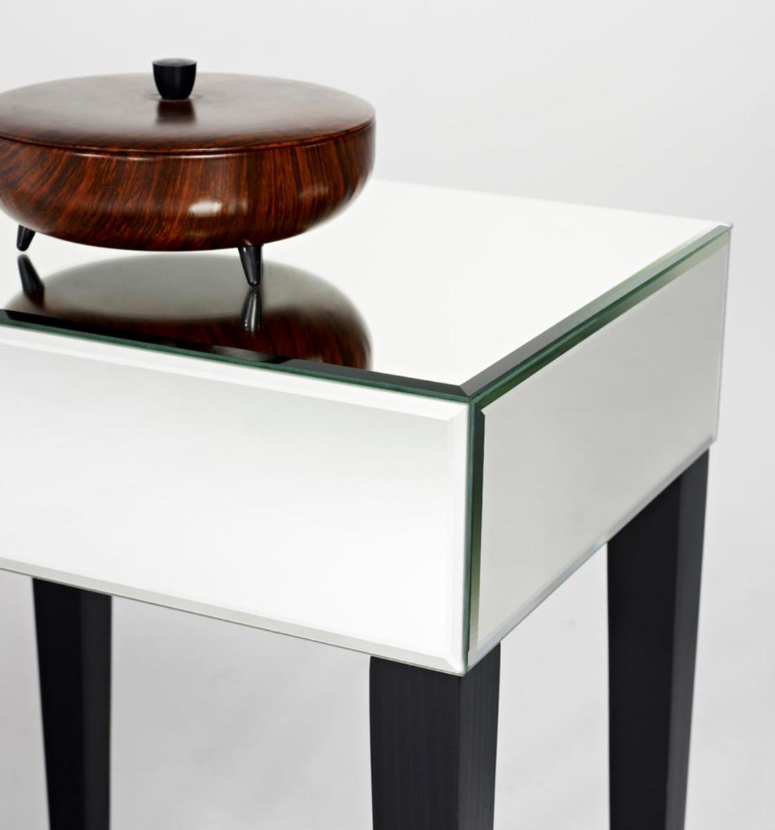 casa padrino luxus spiegelglas beistelltisch 41 x 30 x h 60 cm hotel m bel beistelltische. Black Bedroom Furniture Sets. Home Design Ideas