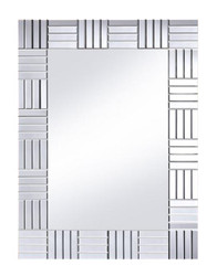 Casa Padrino luxury living room wall mirror 84 x H. 112 cm - Luxury Furniture & Accessories