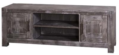 Casa Padrino Country Style Sideboard Black 160 X 46 X H 56 Cm
