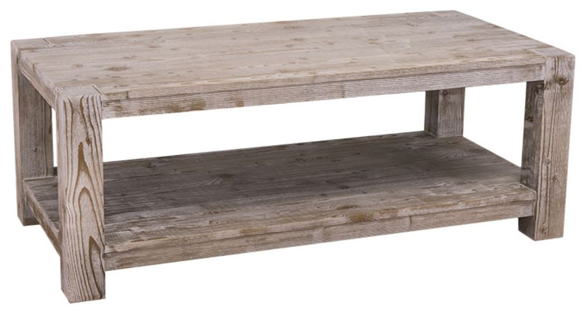 Casa Padrino Country Style Coffee Table Natural Colors 120 X 60 H 45 Cm Living Room In