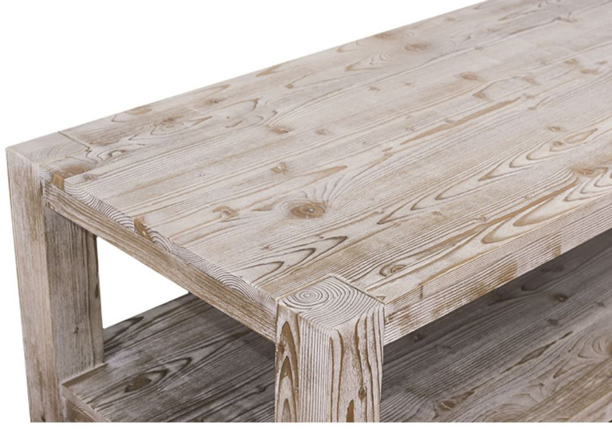 Casa Padrino Country Style Coffee Table Natural Colors 120 X 60 H 45 Cm