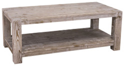 Casa Padrino country style coffee table natural colors 120 x 60 x H. 45 cm - Living Room Table in Country Style