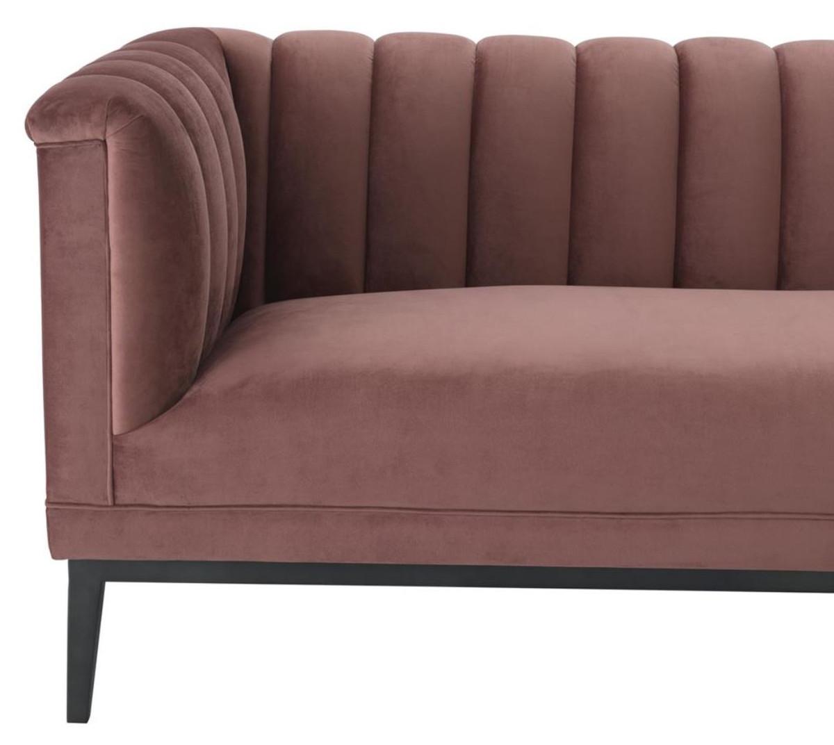 casa padrino luxus sofa altrosa 230 x 86 x h 75 cm wohnzimmerm bel sofas luxus hotel sofas. Black Bedroom Furniture Sets. Home Design Ideas