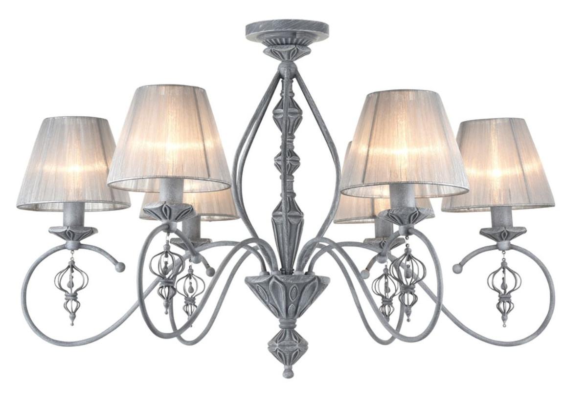 casa padrino barockstil kronleuchter antik grau 74 x h 55 cm barockm bel leuchten l ster. Black Bedroom Furniture Sets. Home Design Ideas