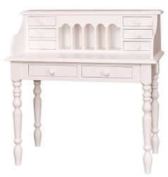 Casa Padrino country style desk white 109 x 60 x H. 110 cm - Country Style Furniture