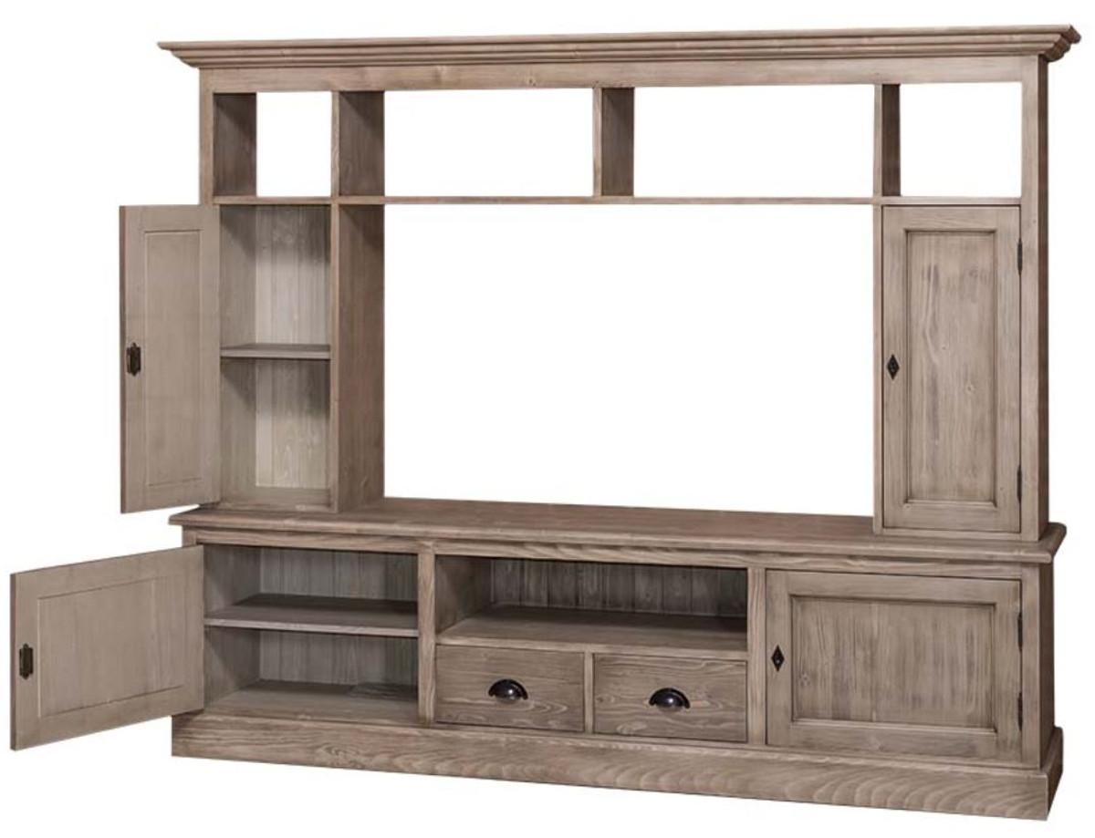 casa padrino landhausstil wohnzimmer fernsehschrank. Black Bedroom Furniture Sets. Home Design Ideas