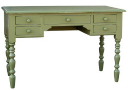 Casa Padrino country style desk antique style green 130 x 65 x H. 85 cm - Country Style Hotel Furniture