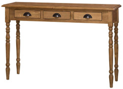 Casa Padrino country style console natural 120 x 35 x H. 79 cm - Country Style Furniture