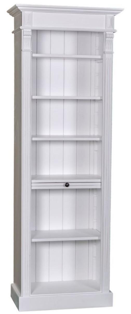 casa padrino landhausstil regalschrank wei 70 x 39 x h. Black Bedroom Furniture Sets. Home Design Ideas