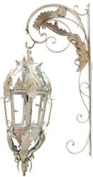 Casa Padrino baroque wall lamp cream 36 x 60 x H. 115 cm - Baroque Style Lights & Chandeliers