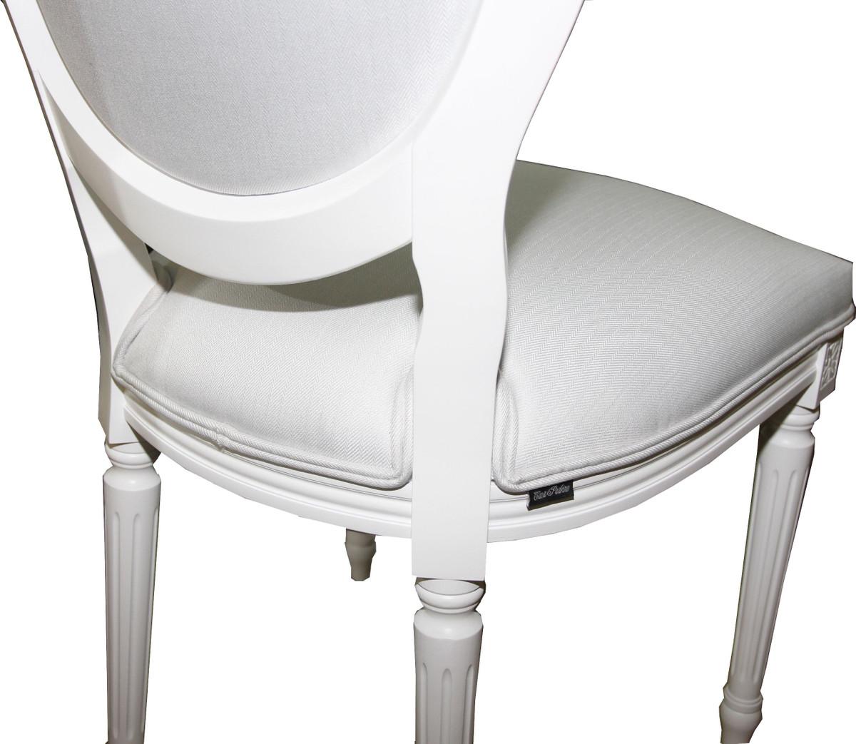 casa padrino luxus barock esszimmer stuhl wei wei luxus qualit t st hle barock st hle. Black Bedroom Furniture Sets. Home Design Ideas