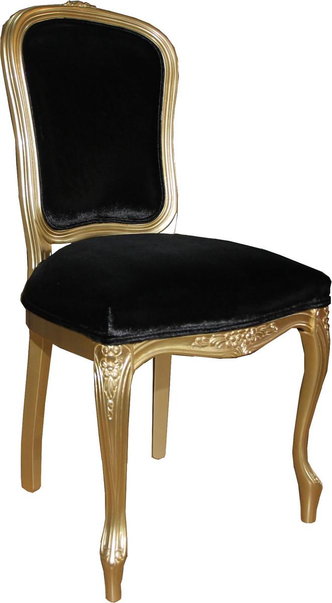casa padrino luxus barock esszimmer stuhl gold schwarz mod2 luxus qualit t hotel m bel st hle. Black Bedroom Furniture Sets. Home Design Ideas