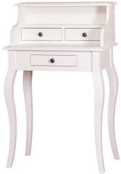 Casa Padrino country house style desk white 65 x 40 x H. 103 cm - Country House Style Office Furniture