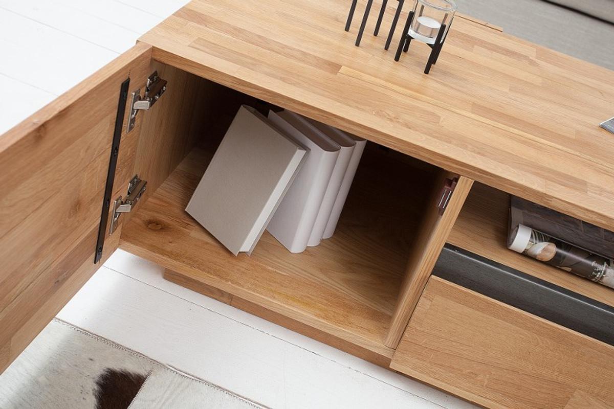 Credenza Moderna Rovere Naturale : Mobile tv di design casa padrino rovere naturale l h x