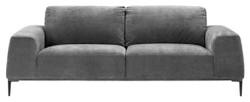 Casa Padrino Luxury Living Room Sofa Gray 223 x 93 x H. 80 cm - Hotel Furniture