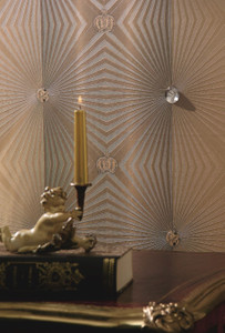 Harald Glööckler Designer Barock Vliestapete 54406 - Deux - Bronze – Bild 2