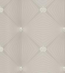 Harald Glööckler Designer Baroque Non-Woven Wallpaper 54404 - Deux - Beige / Cream