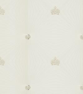 Harald Glööckler Designer Barock Vliestapete 54401 - Deux - Weiß / Beige / Creme