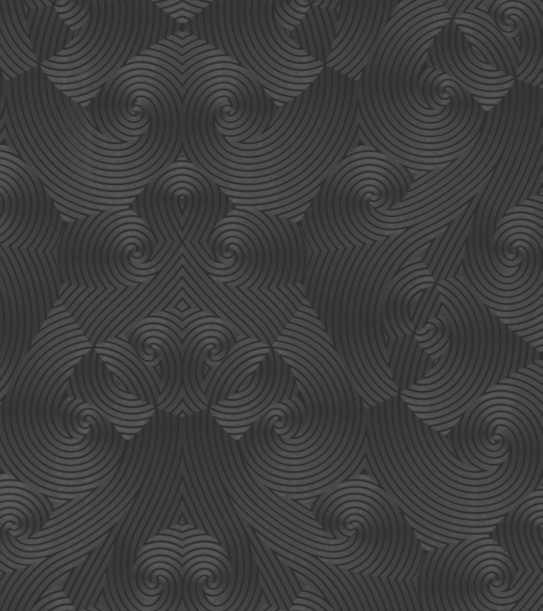 harald gl ckler designer barock vliestapete 54466 schwarz anthrazit metallic designer. Black Bedroom Furniture Sets. Home Design Ideas