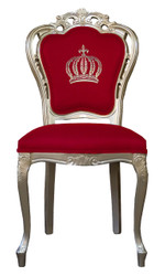 Pompöös by Casa Padrino luxury baroque dining chair red / gold - Pompöös baroque chair designed by Harald Glööckler
