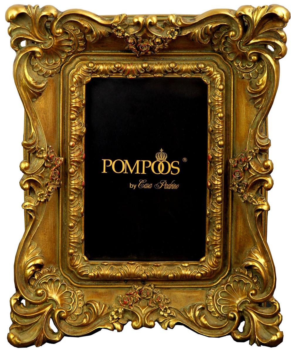 Pompöös by Casa Padrino Barock Bilderrahmen Gold mit prunkvollem ...